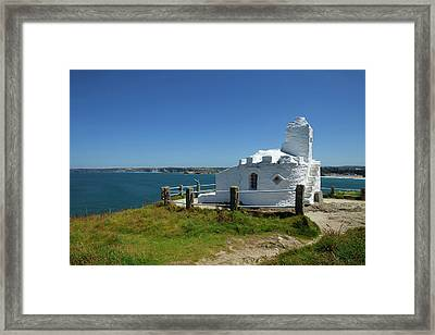 The Huers Hut, Newquay, Cornwall Framed Print by Panoramic Images