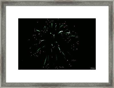 The Hulk Fw Framed Print by Teresa Blanton