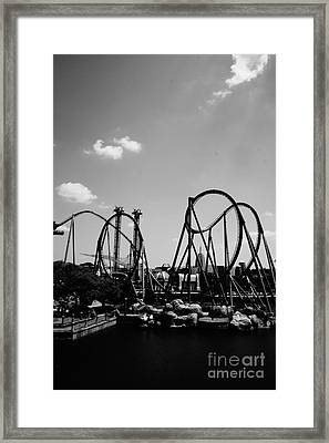 The Hulk Framed Print by Ronald Chacon