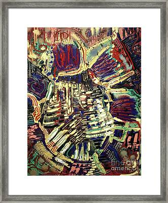 The Human Heart Framed Print by Michael Kulick