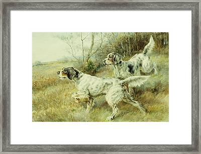 The Hunt Framed Print by Edmund Henry Osthaus