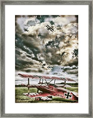 The Hunter Framed Print by Peter Chilelli