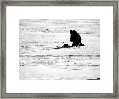 The Iceman Cometh Framed Print by David Bearden