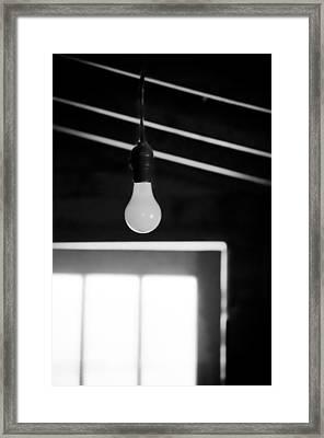 The Idea Framed Print by Matthew Blum