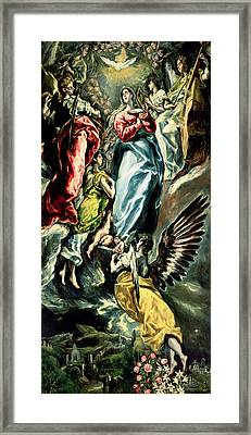 The Immaculate Conception Framed Print by Celestial Images