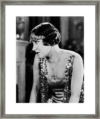The Impossible Mrs. Bellew, Gloria Framed Print by Everett