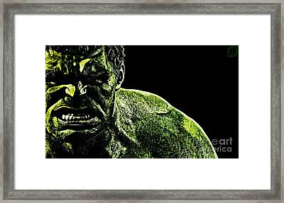 The Incredible Framed Print by The DigArtisT