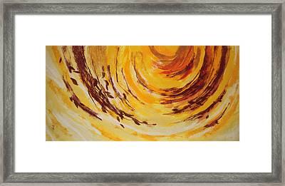 The Indian Summer Framed Print by Pavlina Kucharova