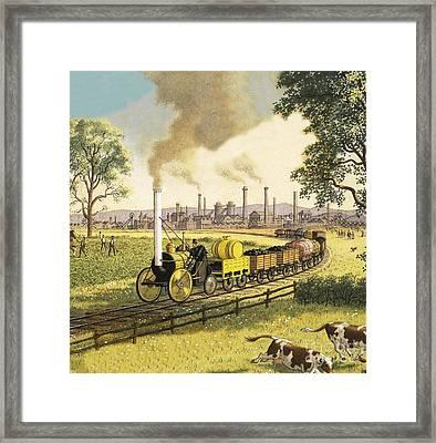 The Industrial Revolution Framed Print by Ronald Lampitt