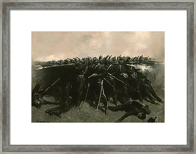 The Infantry Square Framed Print by Mountain Dreams