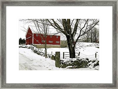 The Inn Framed Print by Laura Mace Rand