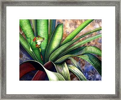 The Intruder Framed Print by Lyse Anthony