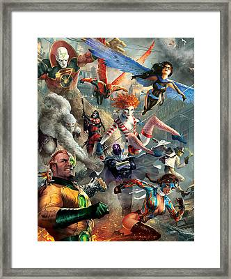 The Invincibles Framed Print by Ryan Barger