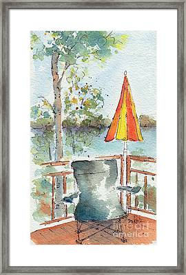 The Invitation - Cropped Framed Print by Pat Katz