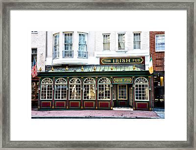 The Irish Pub - Philadelphia Framed Print by Bill Cannon