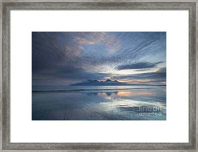 The Isle Of Rhum Framed Print by John Potter