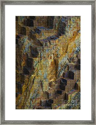 The Jagged Rock Of Vesuvius Framed Print by Graham Foulkes