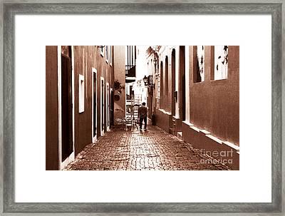 The Jazz Man Framed Print by John Rizzuto