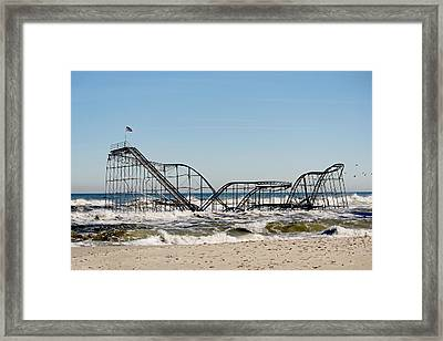 The Jetstar Remembered- 2012 Framed Print by  Tina McGinley