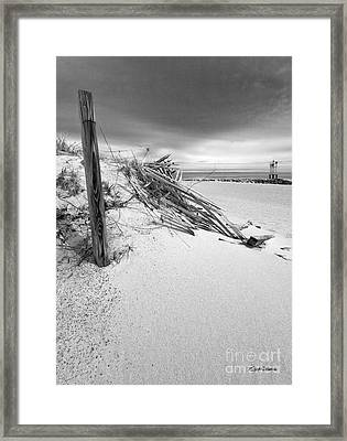The Jetty Framed Print by Michelle Wiarda