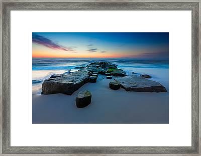 The Jetty Framed Print by Rick Berk