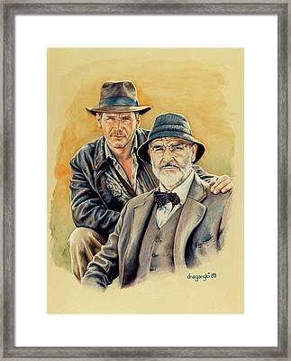 The Jones Boys Framed Print by Edward Draganski