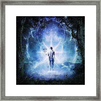 The Journey Begins Framed Print by Cameron Gray