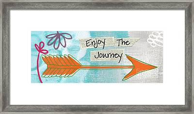 The Journey Framed Print by Linda Woods
