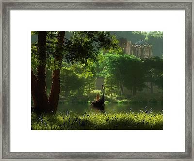 The Journey Framed Print by Melissa Krauss