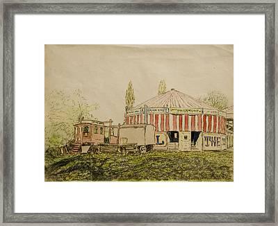 The Joy Wheel, Mitcham Framed Print by John Doman Turner