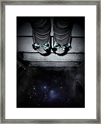 The Jump Framed Print by Donatella Muggianu