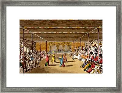 The Junumushtoomee, 19th Century Framed Print by John Augustus Atkinson