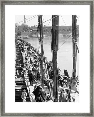 The Katah Bridge Framed Print by Underwood Archives