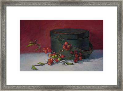 The Keeping Box Framed Print by Vikki Bouffard