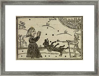 The Killing Of Prince Rupert's Dog Framed Print by British Library