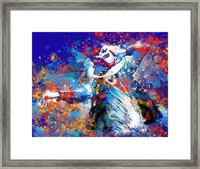The King 3 Framed Print by Bekim Art