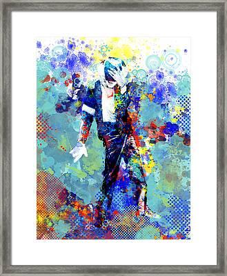 The King Framed Print by Bekim Art