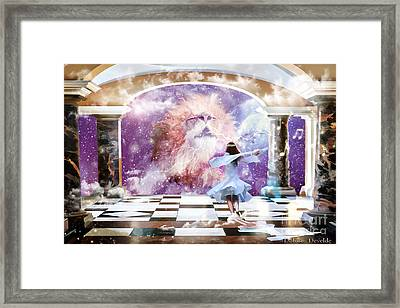 The Kings Court Framed Print by Dolores Develde