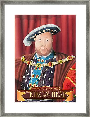 The Kings Head Framed Print by Peter Green