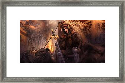 The King's Remains  Framed Print by Ethan Harris