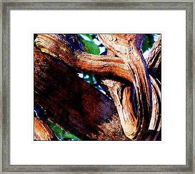 The Kiss Framed Print by Music of the Heart