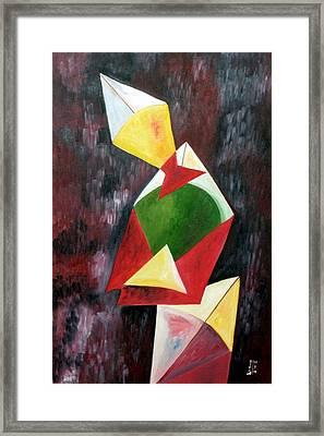 The Kites Framed Print by Dipali Deshpande