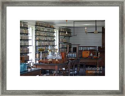 The Laboratory Framed Print by Patrick Shupert