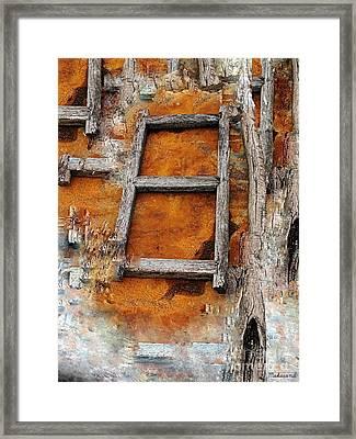 The Ladder  Framed Print by Makarand Purohit