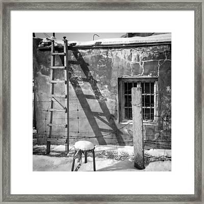 The Ladder Framed Print by Stephanus Le Roux