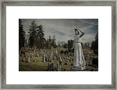The Lady Of Perpetual Care Framed Print by Jemmy Archer