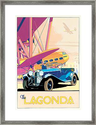 The Lagonda Framed Print by Brian James