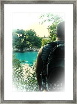 The Lagoon Framed Print by Jasna Buncic