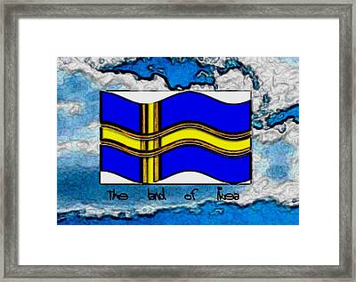 The Land Of Ikea Framed Print by Pepita Selles