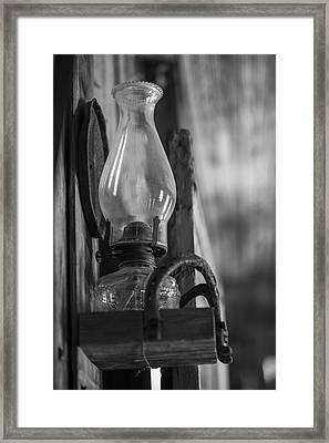 The Lantern Framed Print by Amber Kresge